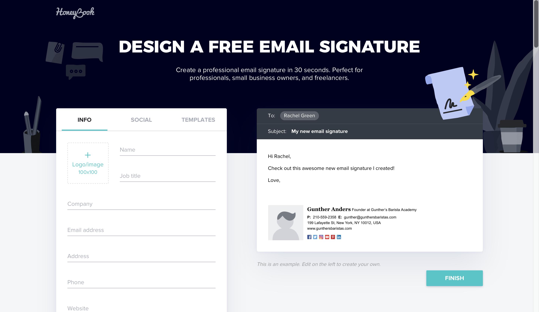Top 5 Free Email Signature Generator - Generadores de Firmas de Correo Electrónico Gratis