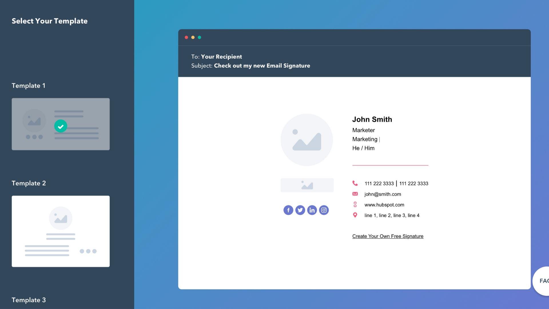 Top 7 Free Email Signature Generator • Imagine Hub